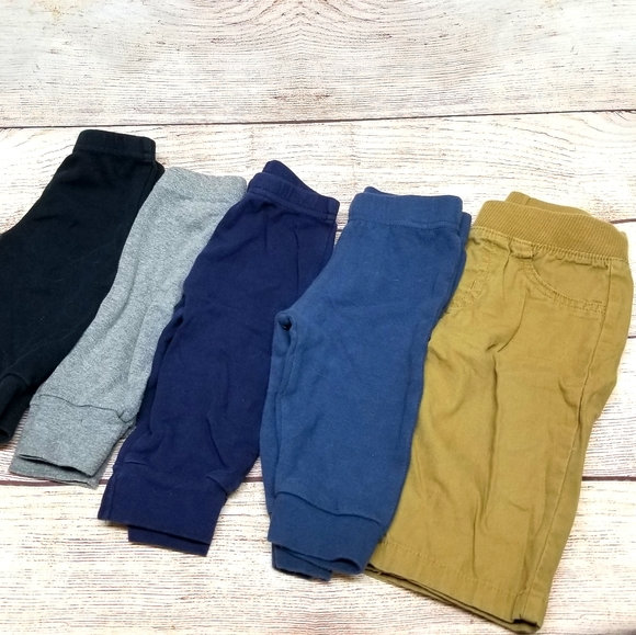 3-6 month baby boy pants bundle